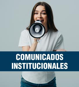 Comunicados Institucionales