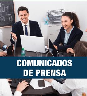 Comunicados de prensa
